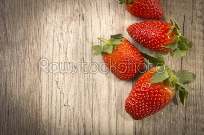 stock photo: strawberry-Raw Stock Photo ID: 60802