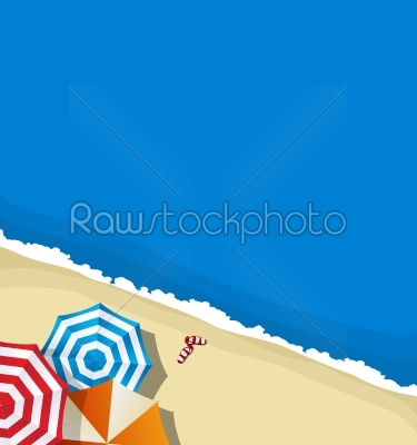 stock vector: summer beach background-Raw Stock Photo ID: 56834