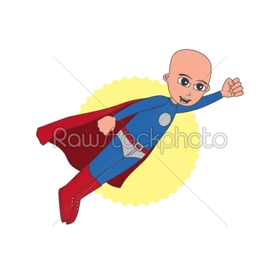 stock vector: superhero cartoon character-Raw Stock Photo ID: 68818