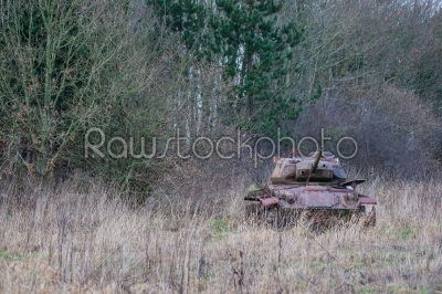 stock photo: tank in the nature-Raw Stock Photo ID: 66183