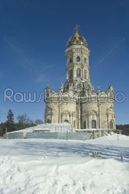 stock photo: temple in dubrovitsy russia-Raw Stock Photo ID: 67796