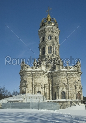 stock photo: temple in dubrovitsy russia-Raw Stock Photo ID: 67806