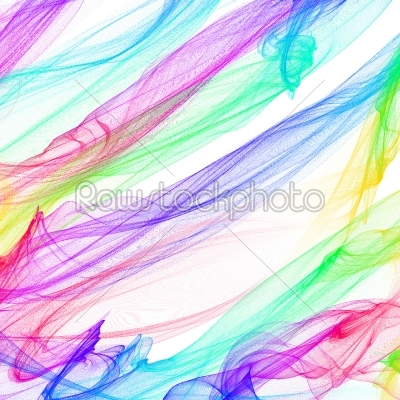 stock photo: the magical form of rainbow smoke abstract background-Raw Stock Photo ID: 68513