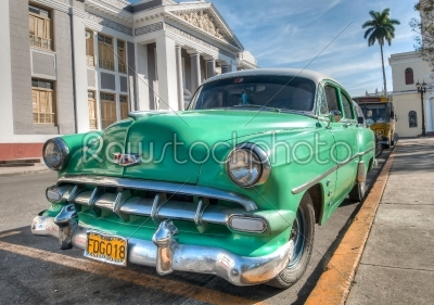stock photo: vintage cadillac in a culture neighborhood-Raw Stock Photo ID: 56221