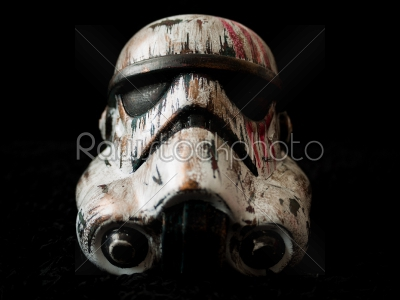 stock photo: war painted storm trooper-Raw Stock Photo ID: 75031