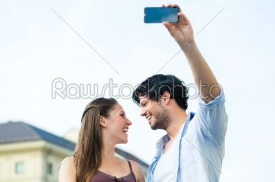 stock photo: young tourists in munich downtown-Raw Stock Photo ID: 49645